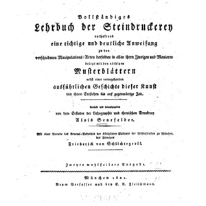 Vollstandiges Lehrbuch der Steindruckerei