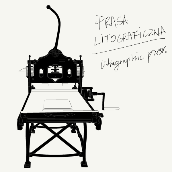 Prasa litograficzna / litographic press