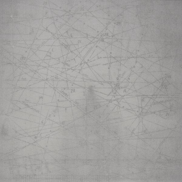 DEREFERENCJE_02 /  Litografia na marmurze /  74x51cm /  2016