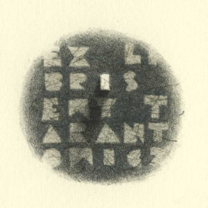 Ex Libris Ewy Tarantowicz /  Lithograph /  15x12cm /  2014