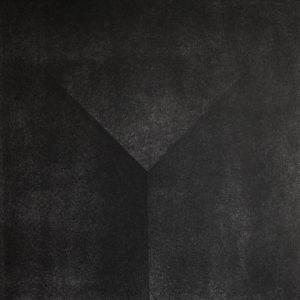 Hügel drucken /  Litografia, suchy tłok /  50x35cm /  2015