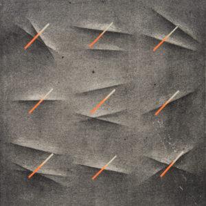 SHADES_03 /  Litografia na marmurze, chine colle /  50x35cm /  2014