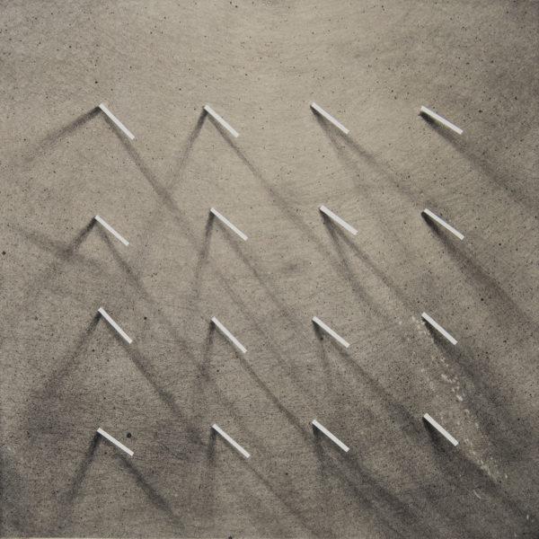SHADES_07 /  Litografia na marmurze, chine colle /  50x35cm /  2014