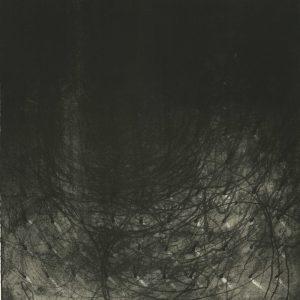SCHEMAT RANDOMIZACJI_01 /  lithograph on marble / 51x74 cm /  2018