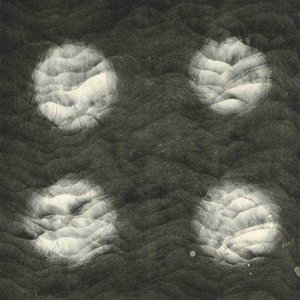 SCHEMAT RANDOMIZACJI_09 /  lithograph on marble / 51x74 cm / 2018