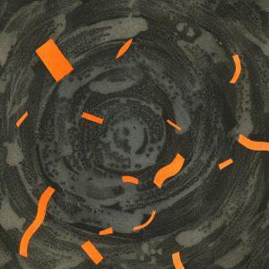ZDARZENIE EWALUACYJNE_09 /  lithograph on marble/  51x74 cm /  2019